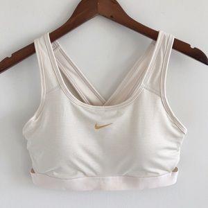 Nike Classic Padded Medium Support Sports Bra L